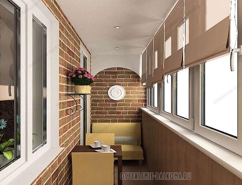 Отделка лоджии - балконы и лоджии.